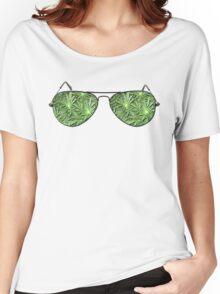 Green Aviators. Women's Relaxed Fit T-Shirt