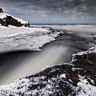 Cascade River Mouth, Lake Superior by Michael Treloar