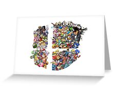Super Smash Bros. 4 Ever + All DLC Greeting Card