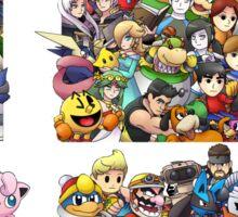 Super Smash Bros. 4 Ever + All DLC Sticker