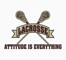 Lacrosse Attitude Is Everything Kids Clothes