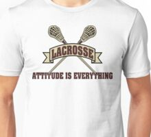 Lacrosse Attitude Is Everything Unisex T-Shirt