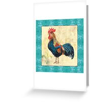 Tiffany Rooster 2 Greeting Card