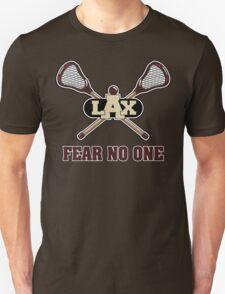 Lacrosse Fear No One Dark T-Shirt