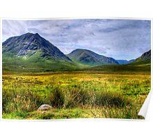 Buachaille Etive Mor, Glencoe Poster