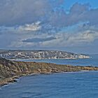 View from Durlston Castle by ArtemBonda