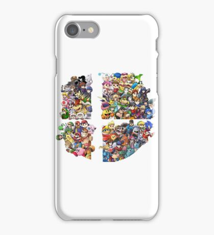 Super Smash Bros. 4 Ever iPhone Case/Skin