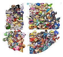 Super Smash Bros. 4 Ever by estatheesploso