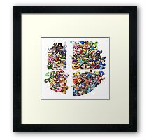 Super Smash Bros. 4 Ever Framed Print