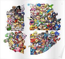 Super Smash Bros. 4 Ever Poster
