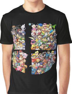 Super Smash Bros. 4 Ever Graphic T-Shirt