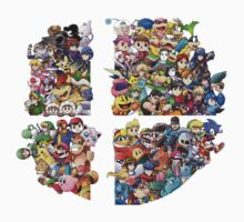 Super Smash Bros. 4 Ever One Piece - Long Sleeve