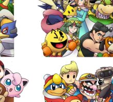 Super Smash Bros. 4 Ever Sticker