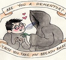 Harry Potter: Dementor  by Krazylarry96