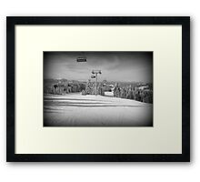 just after! Framed Print