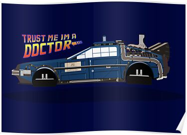 Delorean Tardis by Drumasaurs