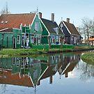 Zaanse Schans by Arie Koene