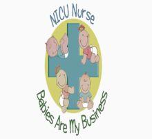 NICU Nurse T-Shirt by gailg1957