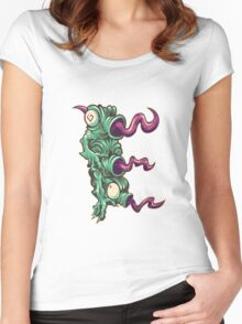 E is for Echidna Tongues Women's Fitted Scoop T-Shirt