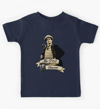 Doctor Who - My first Doctor (Who) seventh 7th Sylvester McCoy Kids Tee