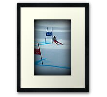 tough! Framed Print
