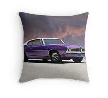 1969 Pontiac LeMans Throw Pillow