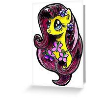 Mlp - Fluttershy Greeting Card