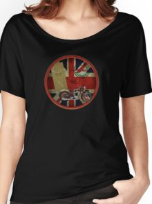 triumph history 1935 Women's Relaxed Fit T-Shirt