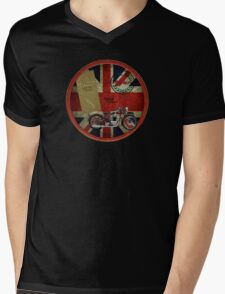 triumph history 1935 Mens V-Neck T-Shirt