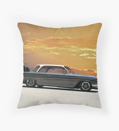 1961 Chevrolet Biscayne Throw Pillow