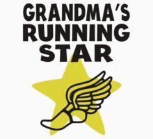 Grandma's Running Star Kids Tee