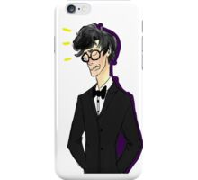 French Waiter Sherlock from The Empty Hearse iPhone Case/Skin