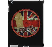 triumph history 1935 iPad Case/Skin