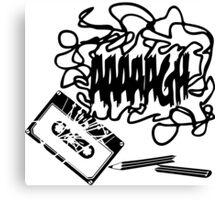 Tape AAAAGH Canvas Print