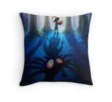 The Legend of Zelda Majora's Mask 3D Artwork #1 Throw Pillow
