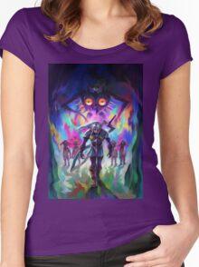 The Legend of Zelda Majora's Mask 3D Artwork #2 Women's Fitted Scoop T-Shirt