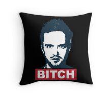 BREAKING BAD JESSE PINKMAN BITCH Throw Pillow