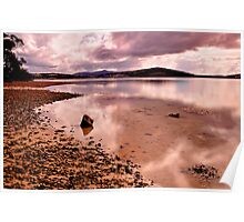 Bay of Fires  -   Reflection Poster