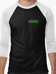 Hideo - Metal Gear Solid Men's Baseball ¾ T-Shirt