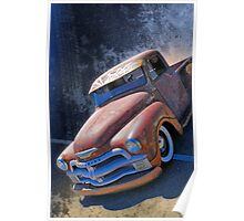 Rat Rod Chevy Poster