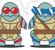 Teenage Mutant Squirtle Squad Sticker