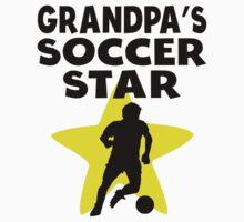 Grandpa's Soccer Star One Piece - Long Sleeve