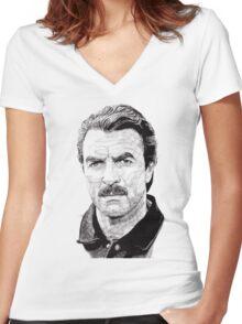 Tom Women's Fitted V-Neck T-Shirt