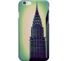 Chrysler Building - Angular Crop iPhone Case/Skin