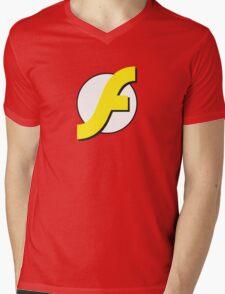 It Runs Like a Flash on DDR4 Mens V-Neck T-Shirt
