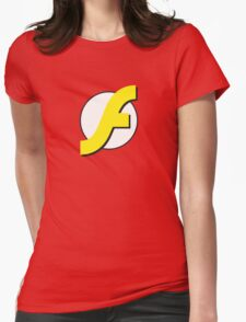 It Runs Like a Flash on DDR4 Womens Fitted T-Shirt