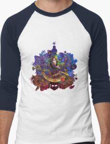 The Legend of Zelda Majora's Mask 3D Artwork #3 Full Cover Men's Baseball ¾ T-Shirt