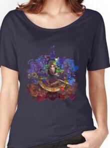 The Legend of Zelda Majora's Mask 3D Artwork #3 Full Cover Women's Relaxed Fit T-Shirt
