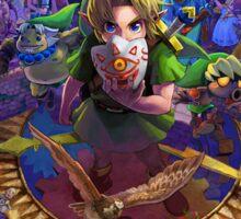 The Legend of Zelda Majora's Mask 3D Artwork #3 Full Cover Sticker