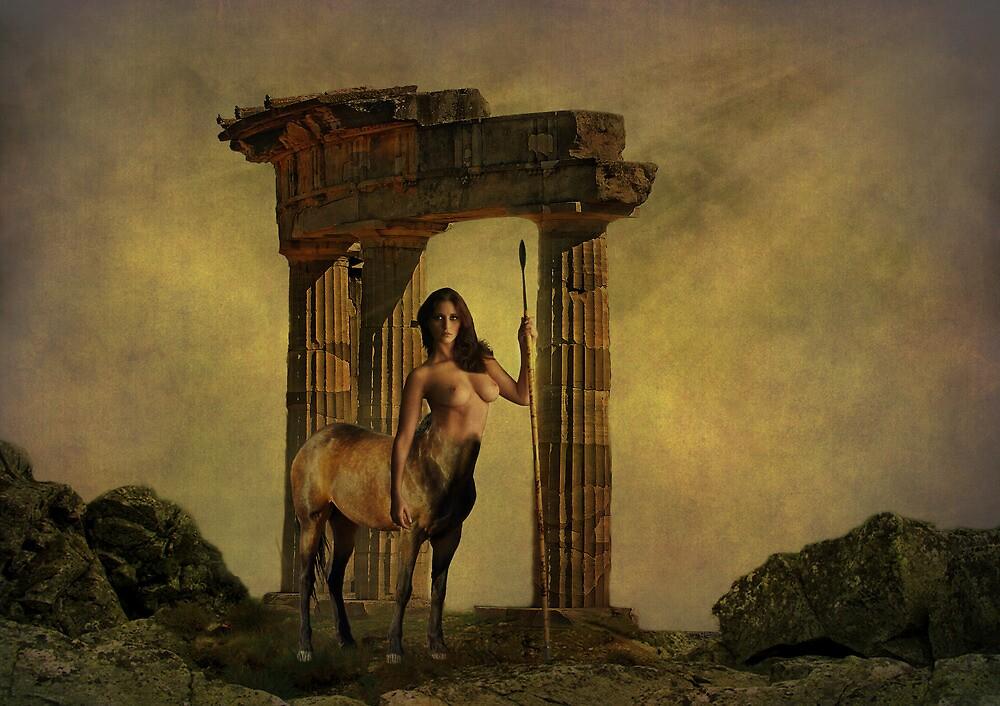 Centaur Temple by Dave Godden